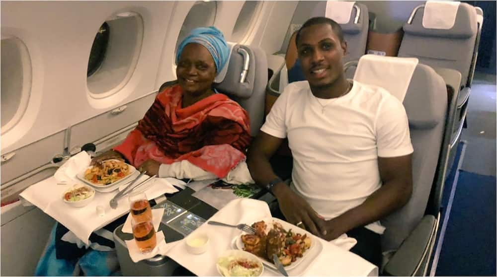 Former Super Eagles Striker Takes Adorable Mother on Expensive Vacation in Beautiful City of Dubai