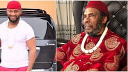 We sef fear him: Reactions as Yul Edochie appreciates dad's strictness, says it made him and siblings tough