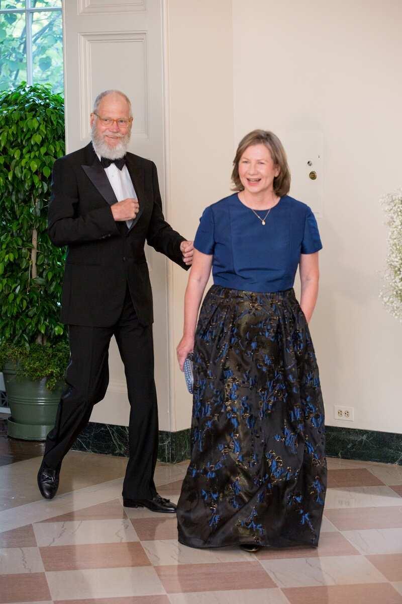 David Letterman Regina Lasko