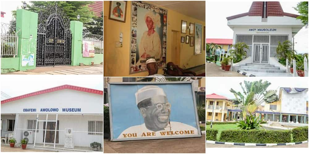 Interesting place to visit: Massive reactions as pictures of Obafemi Awolowo's house light up social media