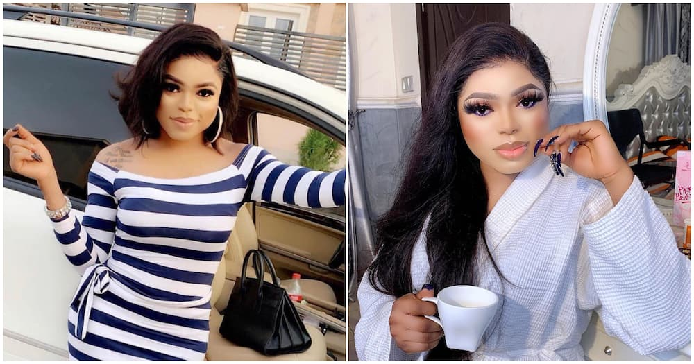 People's opinion are trash, I laugh at trolls - Bobrisky says days after getting ridiculed for visiting dad as a man