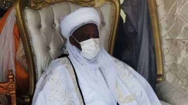 Hotunan bikin mika wa sarkin Bichi, Alhaji Nasiru Ado Bayero sandar girma