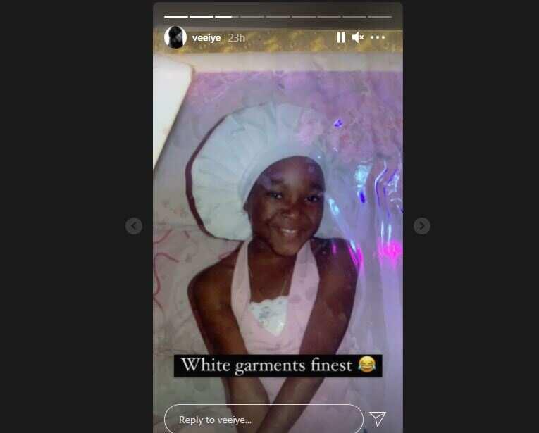 BBNaija star Vee goes down memory lane, shares throwback family photos