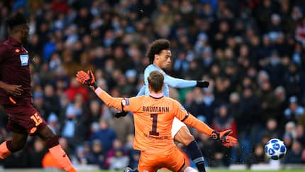 Leroy Sane scores twice as Manchester City hammer Hoffenheim in Champions League