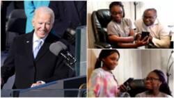Emotional moment Joe Biden invites Nigerian family to White House (video)