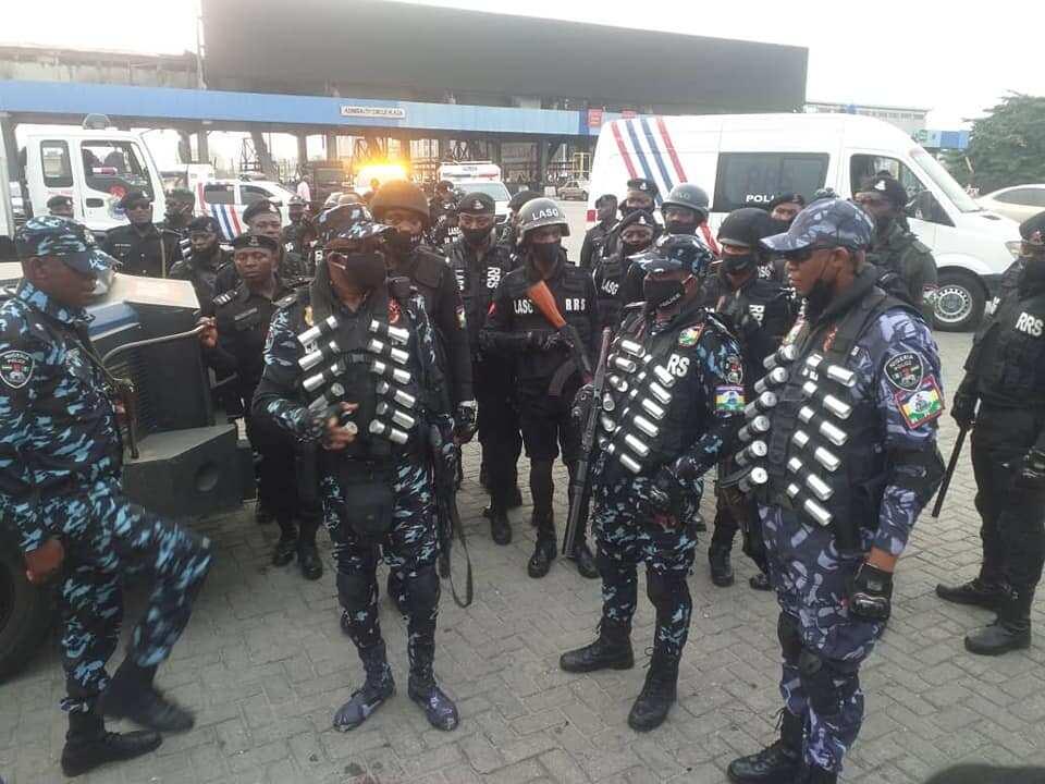 OccupyLekkiTollGate: Police arrest protesters at Lekki tollgate