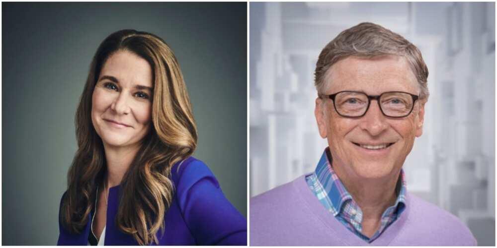 Melinda and Bill Gates. Photo: @melindagates and @BillGates