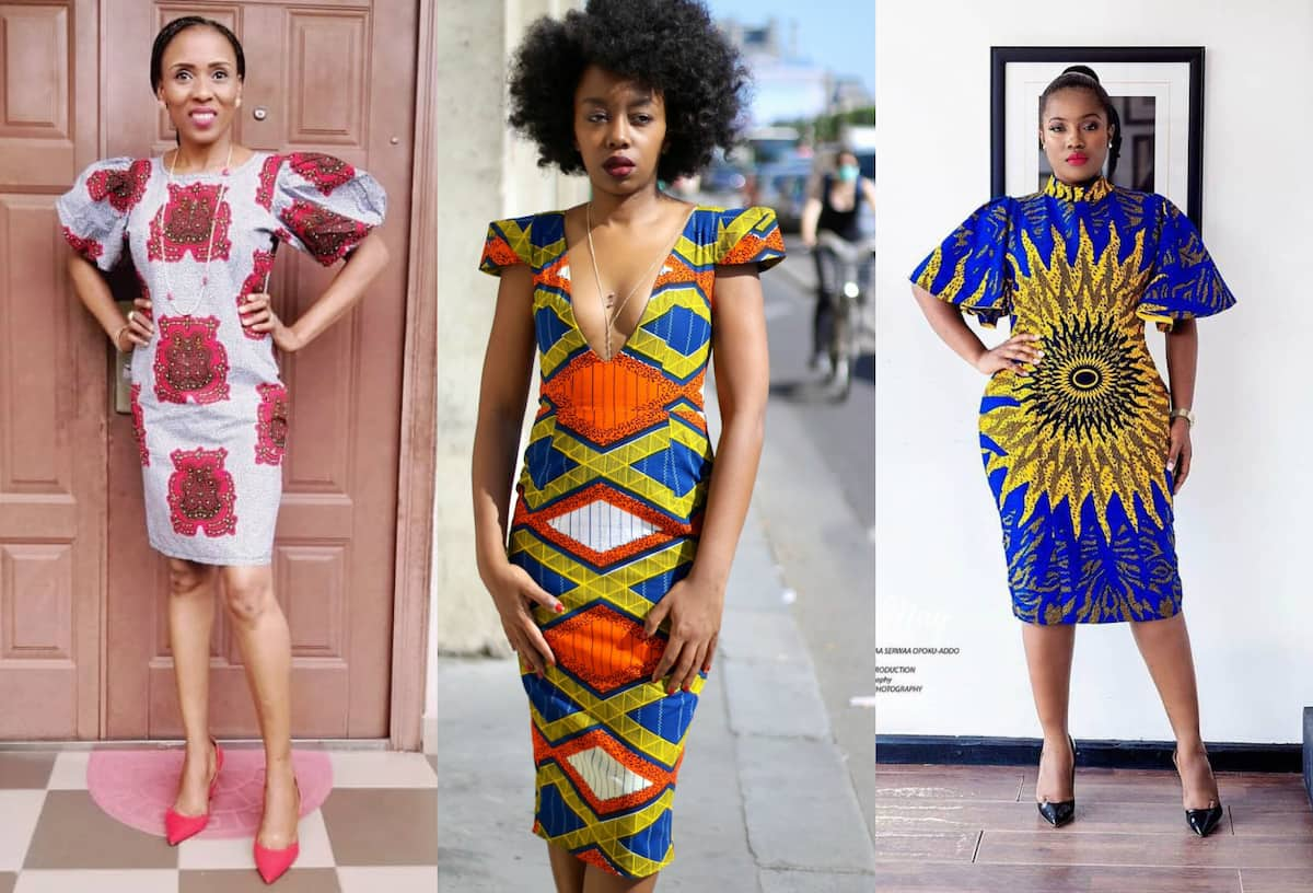 Ankara pencil dresses