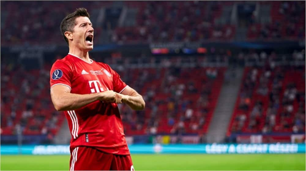 Robert Lewandowski feels his numbers with Bayern Munich in recent years stand up to scrutiny