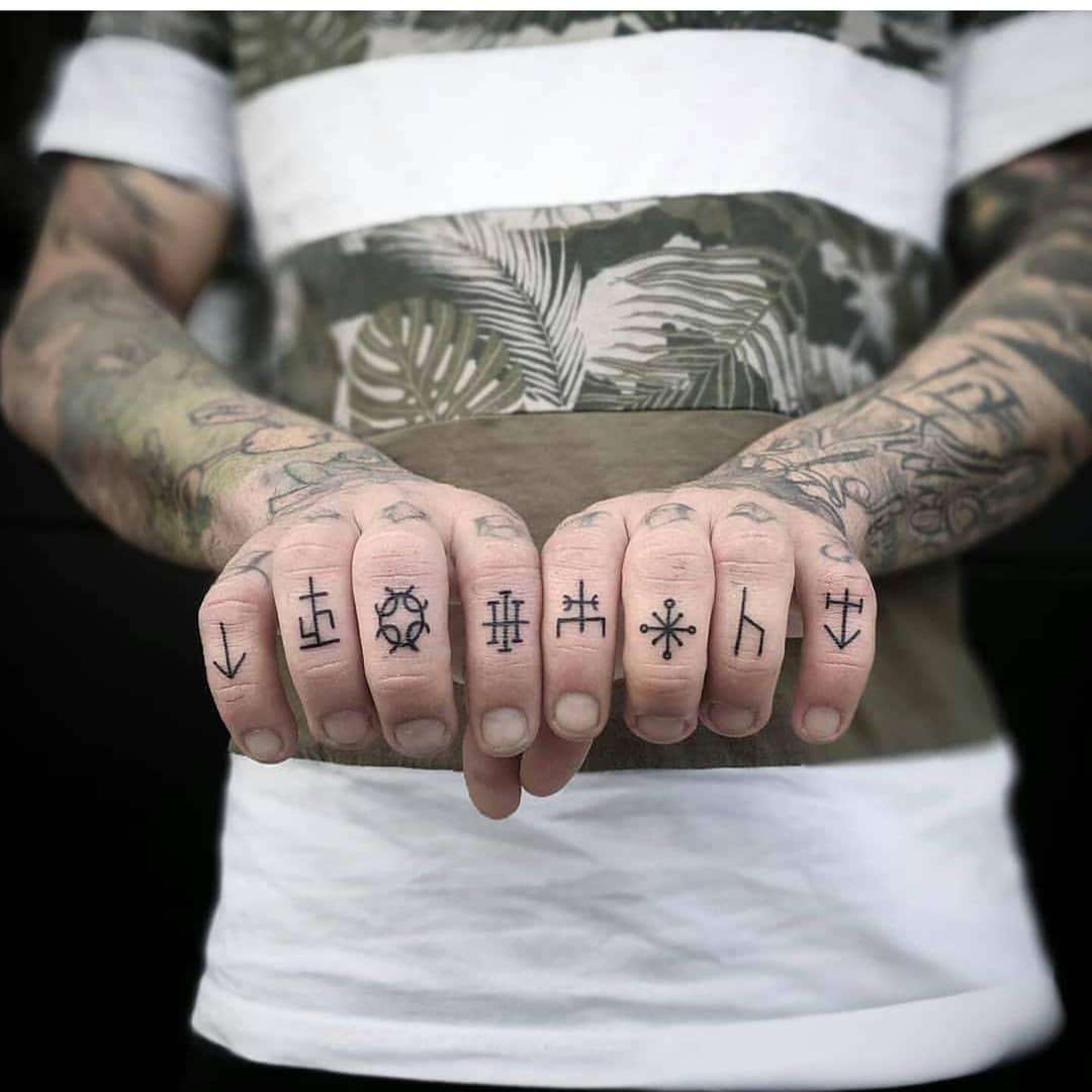 Life Symbol Tattoos For Men