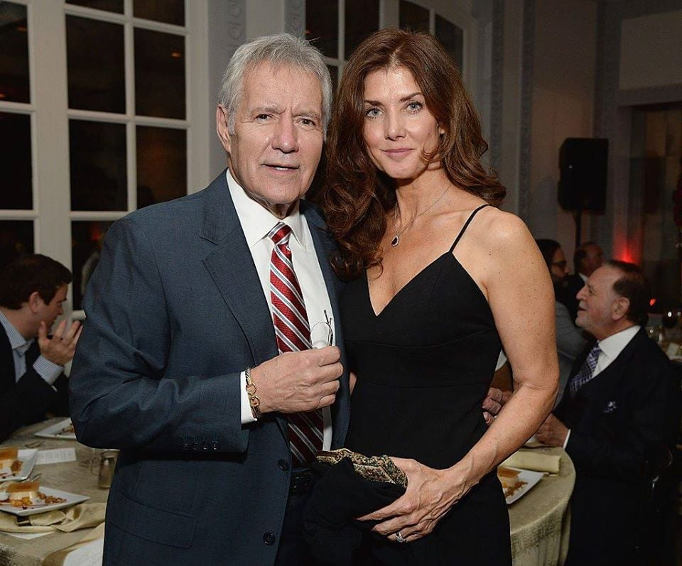 how old is alex trebek's wife