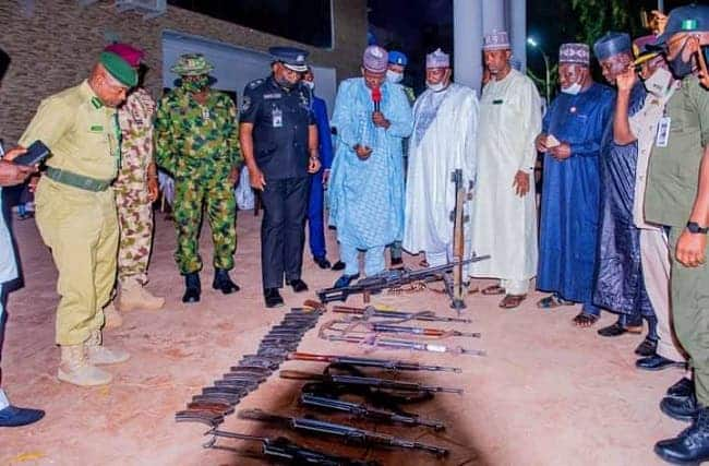 Repentant bandit says he wants to go to school, surrenders 20 AK-47 rifles