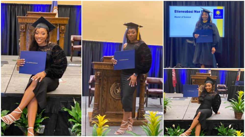 At your age, I Was Writing JAMB: Reaction as 23 Year Old Nigerian Lady Bags Masters with Distinction in US