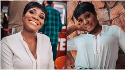 Nigerian lady explains embarrassing experience after she was sent out of church wedding for wearing trousers