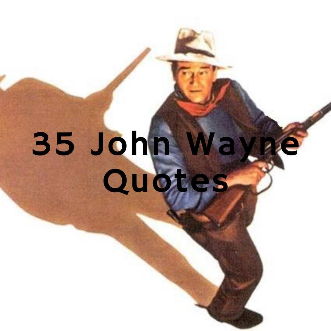 I'm the stuff men are made of! Wall Quote God-damn JOHN WAYNE