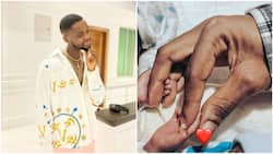 They have my eyes and dimples - Kizz Daniel speaks about his newborns, people rejoice with him