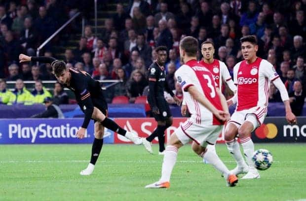 Michy Batshuayi on fire as Chelsea record incredible win over Ajax in UCL tie
