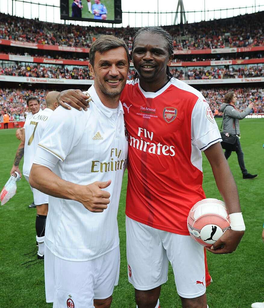 Kanu Nwankwo hails Arsenal stars after impressive victory over London rivals Chelsea