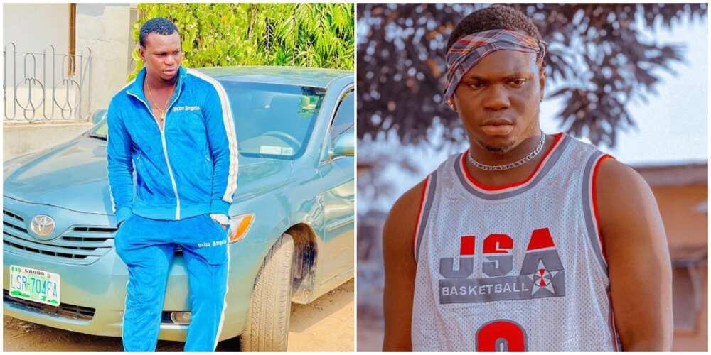 Fast-rising actor Ayobami Daniel loses car to tanker explosion in Abeokuta