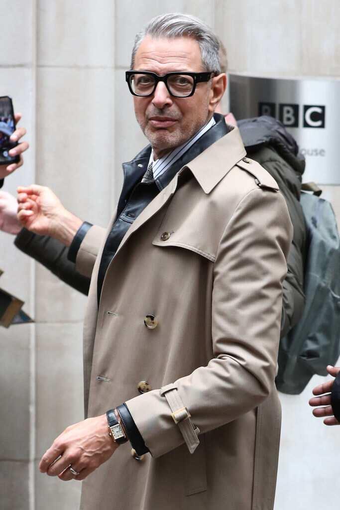Jeff Goldblum height