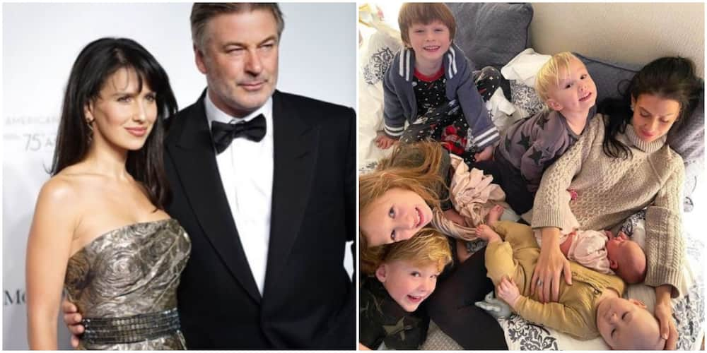 American actor Alec Baldwin and wife Hilaria welcome 6th ...