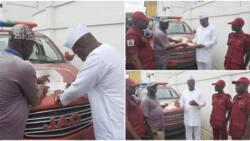 Insecurity: Photos emerge as Makinde appoints Gani Adams as Amotekun ambassador