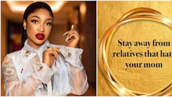 Tonto Dikeh advises fans to stay away from relatives who hate their mother as she marks African Child Day