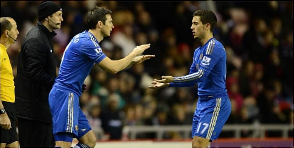 Lampard finally reveals why Chelsea players lack quality like Hazard