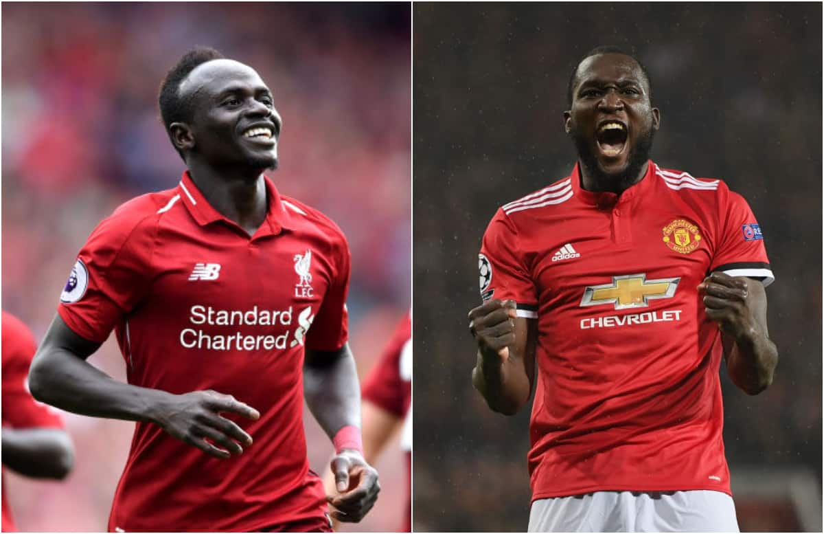 Mane strategically forces Lukaku into an offside position during game at Anfield
