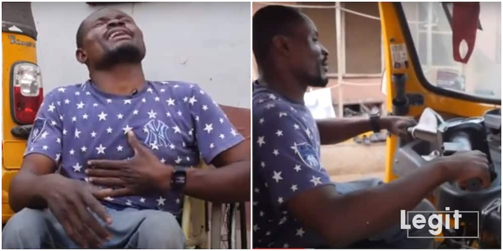 I was rejected at an audition because of my disability, Nigerian man disabled on both feet laments
