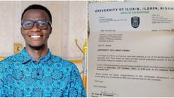 Nigerian man who scored 196 in JAMB emerges best graduating student of UNILORIN, many celebrate him