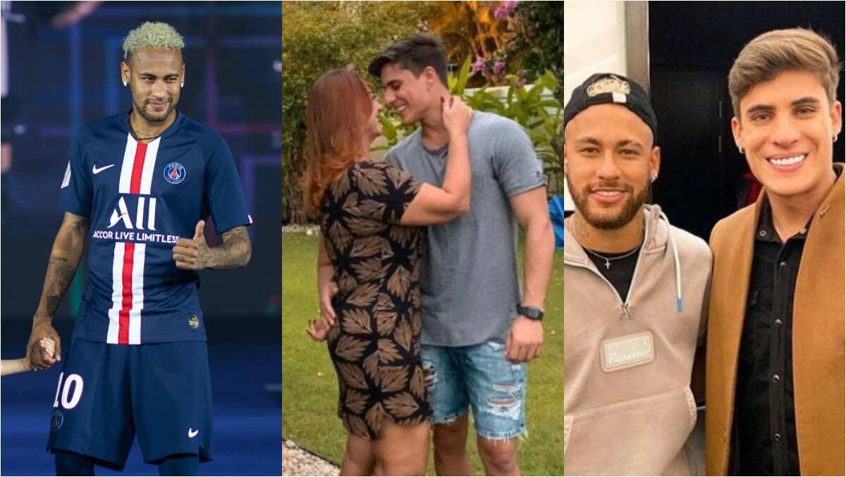 Neymar S Mum 52 Now Dating 22 Year Old Man Ex Husband Congratulates