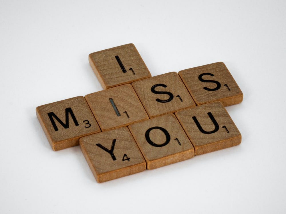 Romantic missing you love letters