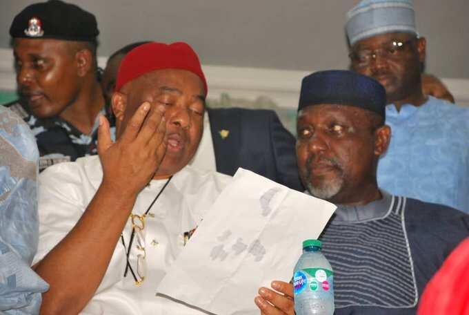 Imo APC crisis: Faction loyal Okorocha stays away from registration exercise