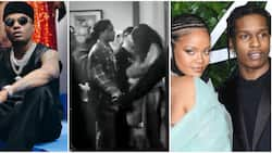 Big win for Wizkid as Rihanna and ASAP Rocky were spotted backstage at his concert in LA