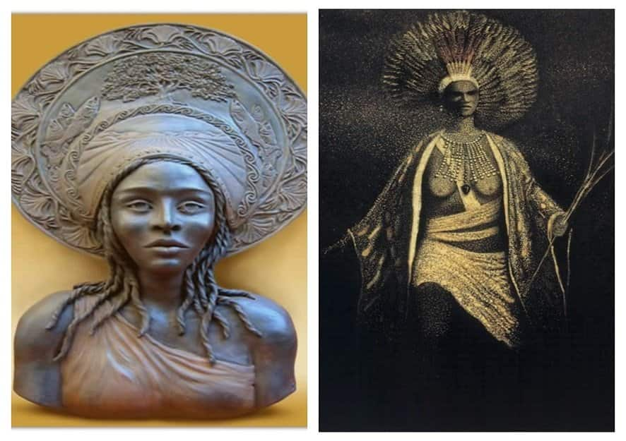Queen Calafia: The black woman behind the name of US state, California