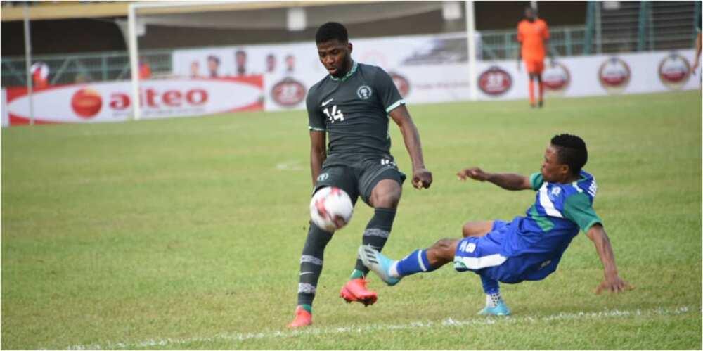 LIVE: Nigeria 1-0 Lesotho (AFCON 2022 Group L Qualifier)