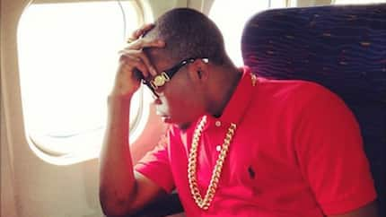 Does Olamide have a private jet?