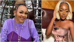 Mercy Aigbe looks stunned over daughter Michelle's post on Instagram fans react