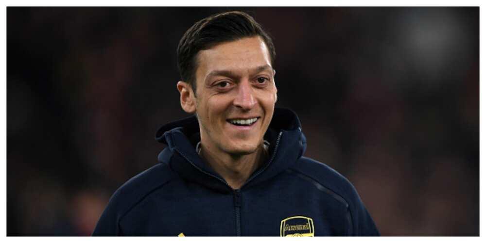 Mesut Ozil jokingly tells Roma he will like to play alongside Totti