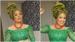 Nollywood actress Monalisa Chinda looks stunning in new traditional themed photos