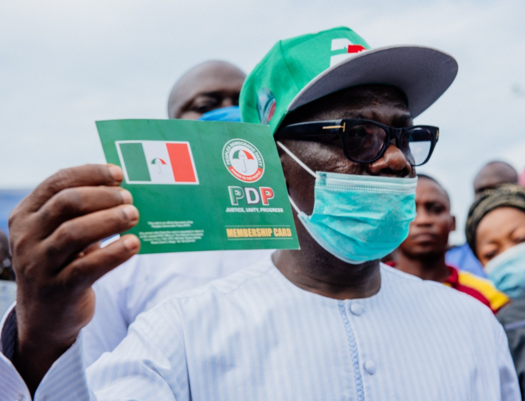 Agboola Ajayi Says He Lost PDP Ticket To Jegede Because of Many Foes