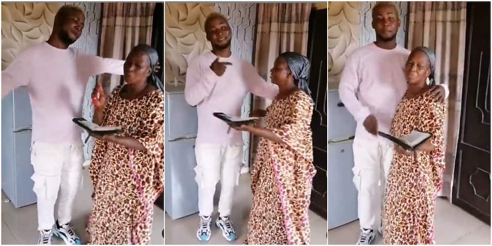 Mother Shows Great Support for Son's Music Career, Sings His Track Word for Word in Video as He Releases EP