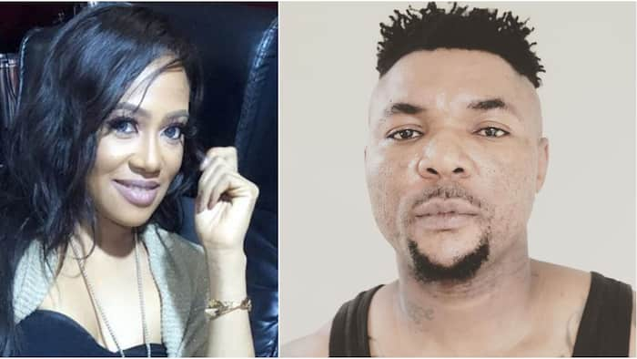 Oritsefemi's ex-manager Kara fires back at singer after he claimed they have been intimate many times