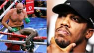 Popular Nigerian comedian sends strong warning to Anthony Joshua after Fury knocked out Deontay Wilder