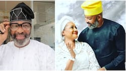 Congratulations pour in for actor Yemi Solade as he celebrates wedding anniversary with beautiful wife