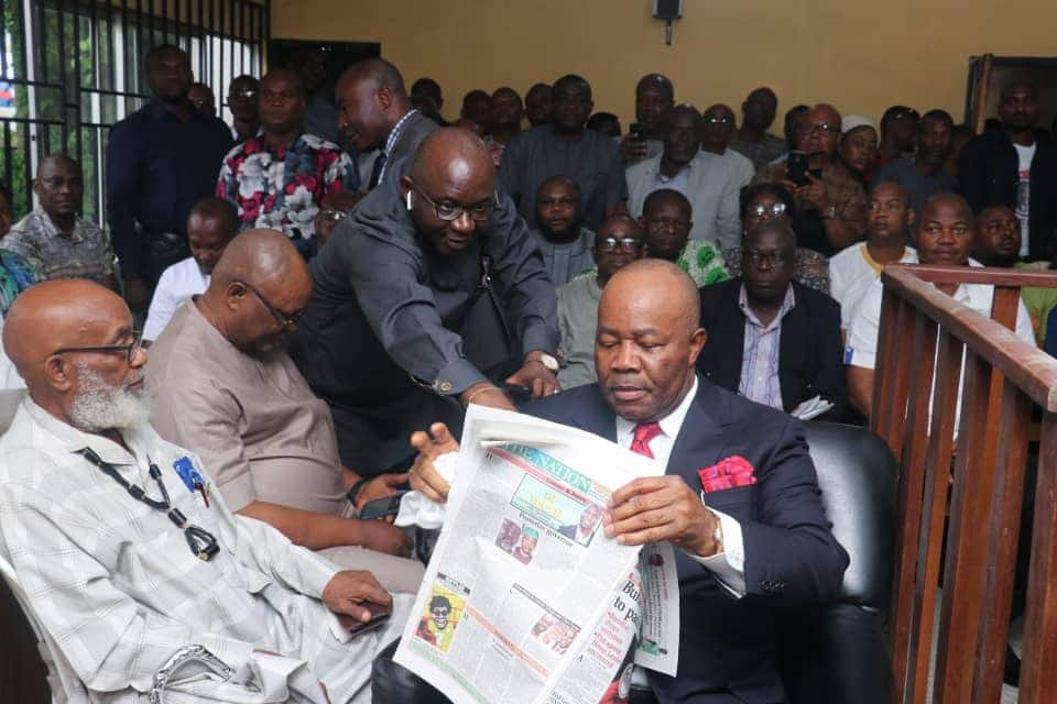 Drama as PDP's witness makes u-turn, says REC Igini instructed him to cancel Akpabio's votes - Legit.ng