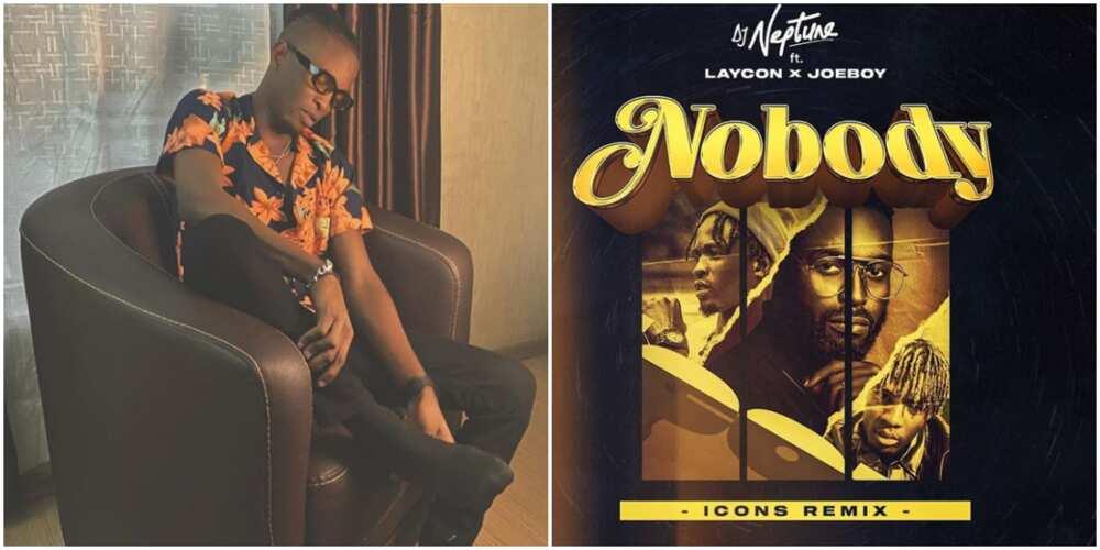 BBNaija: Laycon features on DJ Neptune's single 'nobody' remix