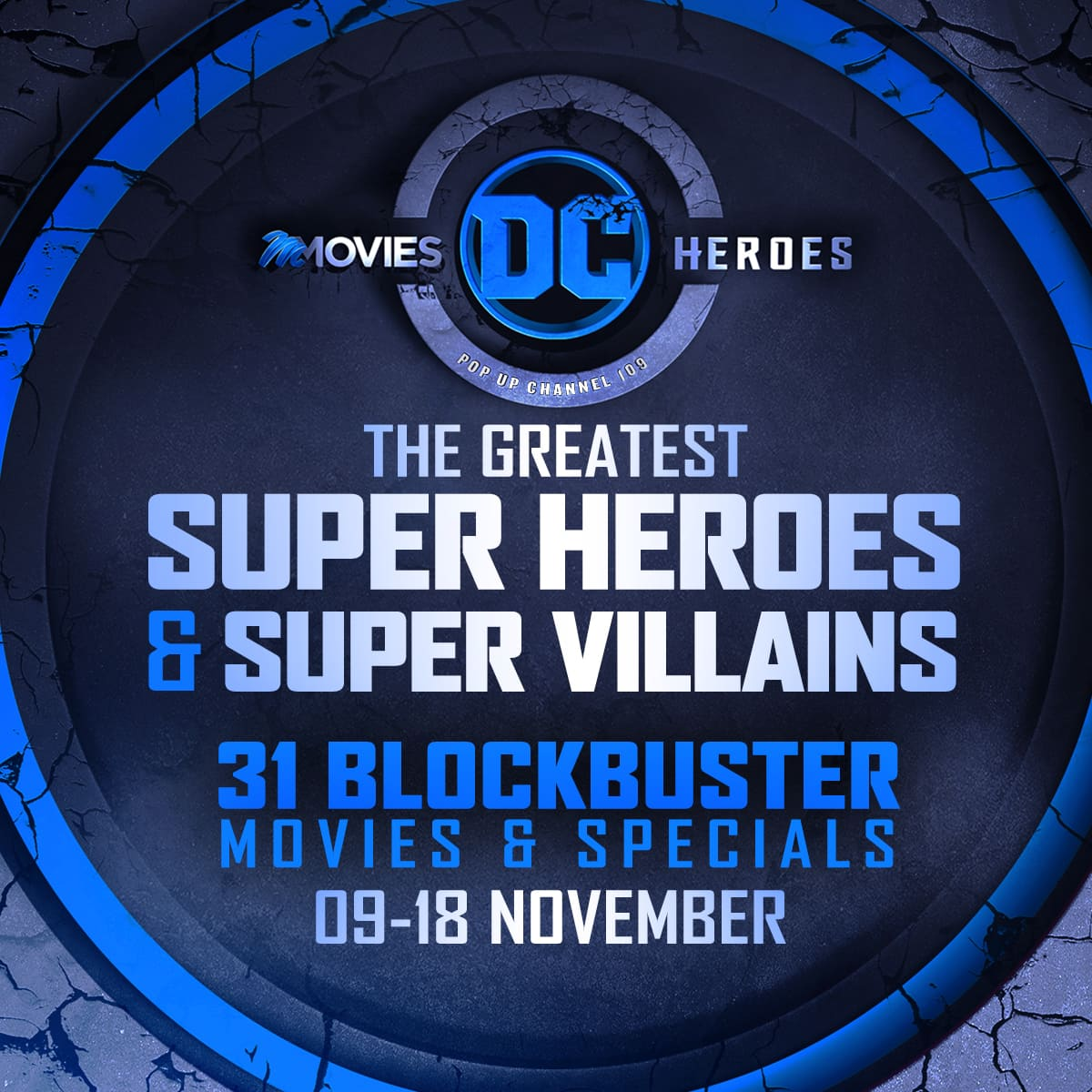 Non-stop superhero action on DStv premium