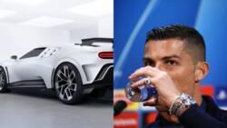 Cristiano Ronaldo stuns fans again, splashes N4.8bn on luxurious limited edition Bugatti Centodieci